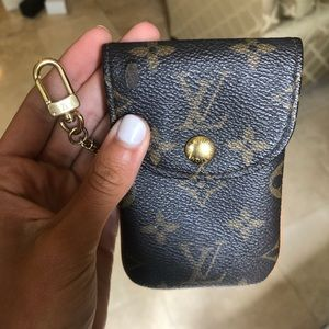 Louis Vuitton phone/ key wallet or keychain